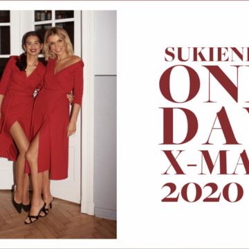 NUDYESS DLA ONE DAY - limitowana edycja świątecznej sukienki